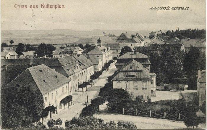 Chodova Plana Historie Obce